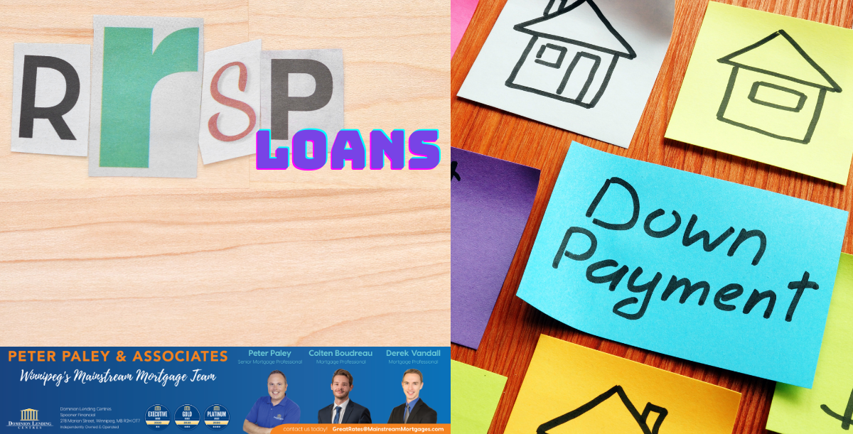 RRSP LOANS FOR YOUR DOWN PAYMENT banner