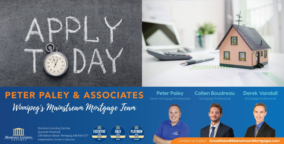 Apply Now – Mortgages & Lines Of Credit banner