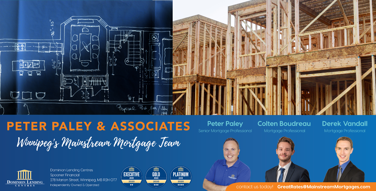 HOME BUILDING & CONSTRUCTION MORTGAGES banner