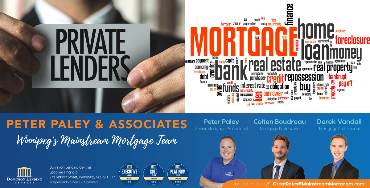 PRIVATE MORTGAGES – 1st, 2nd & 3rd MORTGAGES banner