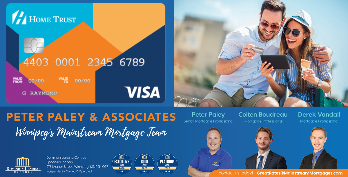 Secured Visa Application – Home Trust banner