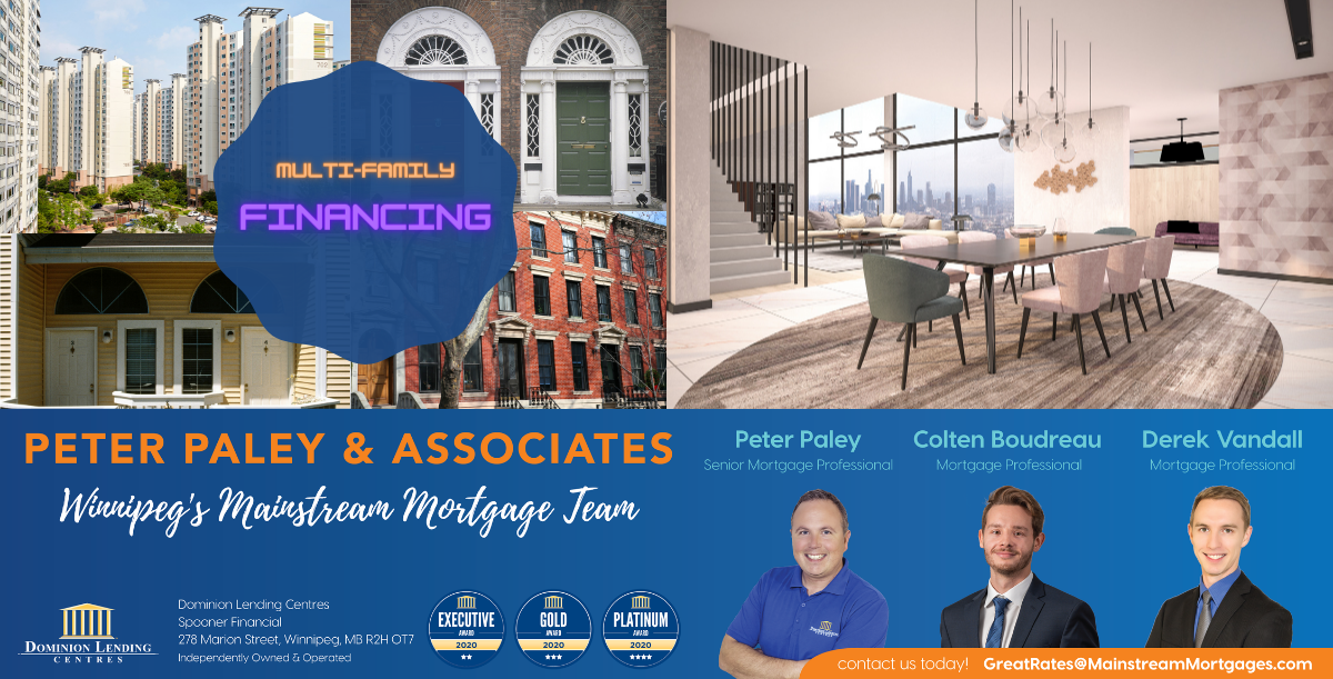 MULTI-FAMILY MORTGAGE FINANCING – (5 Or More Suites) banner